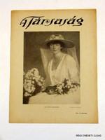1921 április 24  /  A Társaság  /  RÉGI EREDETI ÚJSÁG Szs.:  7079