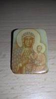 Szent kép (Mária gyermekével) kitűző, bross 096