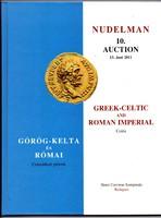 Görög-Kelta és Római császárkori pénzek Nudelman árverési katalógus 2011
