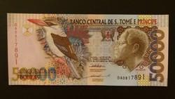 Sao Tomé és Principe, Saint Thomas és Prince 50000 Dobras 1996 UNC