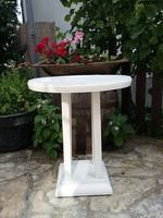 Provence stílusban festett szalon asztal