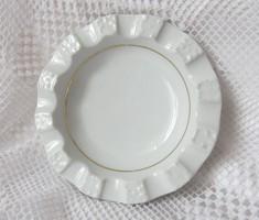 Zsolnay hamutartó a Gellért szálló logójával