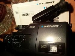 Retró videokamera Blaupunkt CR-4800 VHS-C kazettás