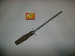 Régi fa nyelű kés élező