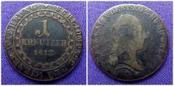 1 krajcár 1812 S