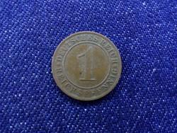 Weimar 1 Reichspfenning 1927 D
