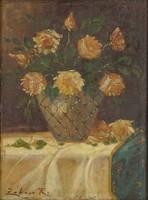 0Q553 Zobor R. jelzéssel : Virágcsendélet