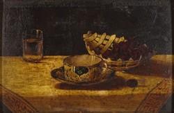 0O900 Ismeretlen festő : Asztali csendélet