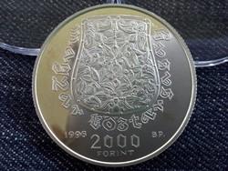 A Honfoglalás 1100 éves évfordulója ezüst 2000 Forint 1996 PP /id3522/