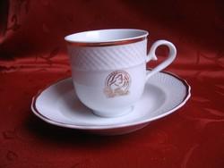 Hollóházi kávéscsésze aljjal