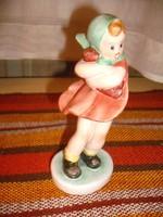 Kislány a szélben