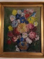 Frank Frigyes Virágcsendélet