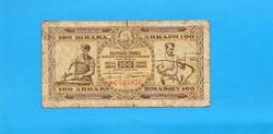 Jugoszlávia 100 Dinár 1946
