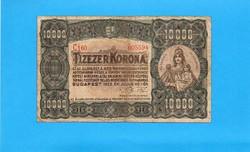 """10.000 korona 1923 """"Magyar Pénzjegy Nyomda"""""""