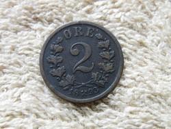 KK82 1893 Norvégia 2 ore