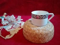 Antik csésze, számozott, nagyobb méretű