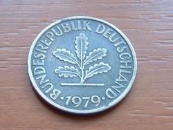 NÉMET NSZK 10 PFENNIG 1979  F