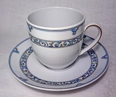 ESCHENBACH  Gyönyörűséges aprólékosan kézzel festett szép díszítésű porcelán kávés csésze.