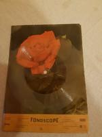 Képeslap-hanglemez.Rózsás.