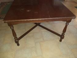 Dohányzó asztal 75x75x50 cm