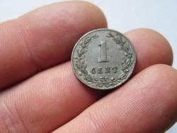 KK92 1881 Hollandia 1 cent Nederland