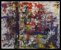"""""""Színek csatája """"Koso festmény ,hatalmas 80 x 100 cm ,keretes akció"""
