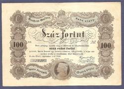 100 Forint 1848 Kossuth K004