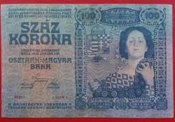 100 Korona 1910  nagyon RITKA  KN 10349