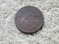 KK94 1889 India 1/4 anna