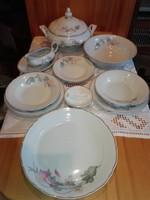 12 személyes étkészlet,apulum finom porcelán.