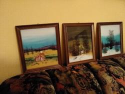 Falikép- sorozat, üvegfestmény