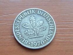 NÉMET NSZK 10 PFENNIG 1970  J