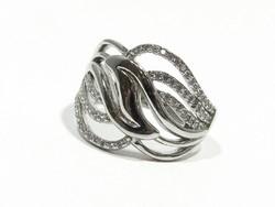 Ezüst köves gyűrű(Kecs-Ag69074)