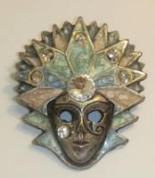 Velencei maszk kitűző