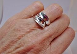 Szépséges ezüst gyűrű