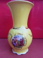Bécsi jelenetes meseszép  váza eladó!