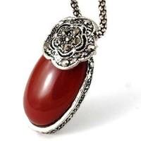 Tibeti ezüst nyaklánc TEL-P05