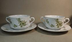 Leveses csésze szett  Eschenbachi porcelán  2 db