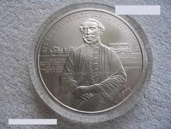 Széchenyi 2000Ft-os szinesfém emlékérme (BU) UNC.