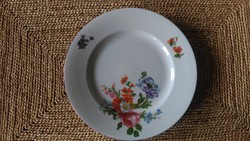 Zsolnay virágmintás 5db süteménes tányér