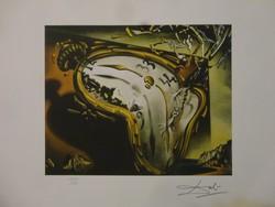 Elfolyó idő!!! Salvador Dali világhírű klasszikusa!