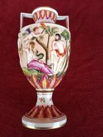 Antik Nápolyi (Capodimonte) váza.