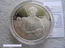 Széchenyi 20000Ft-os ezüst emlékérme, (Prof) UNC.
