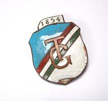 TG 1854 gimnáziumi jelvény.