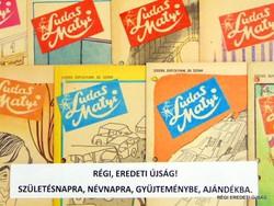 1980 február 14  /  Ludas Matyi  /  SZÜLETÉSNAPRA RÉGI EREDETI ÚJSÁG Szs.:  6898