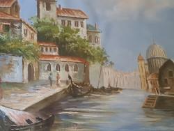 Régi Velencei tájkép