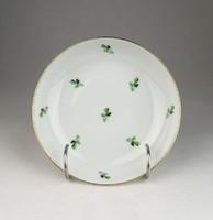 0U707 Petrezselyem mintás jelzett porcelán tálka