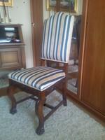 Faragásos kárpitozott szék