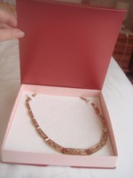 Gyönyörű arany nyaklánc, nyakék női 43,36 gr.kézzel készült