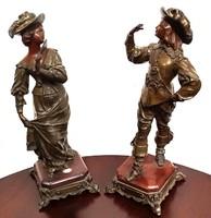 Antik szobor párban